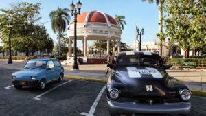 Ve městě Cienfuegos