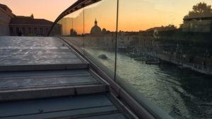 Vstup do Benátek (ráno)