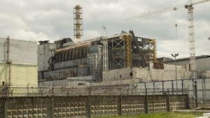 Čtvrtý reaktor jaderné elektrárny v Černobylu