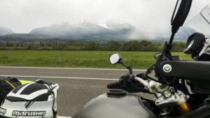 Pod Tatrami se silně ochaldilo a začalo sněžit