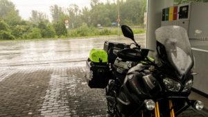 V Užgorodu mě chytl brutální déšť
