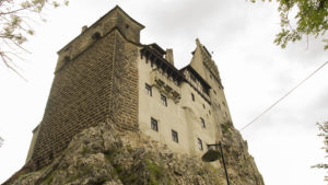 Filmový hrad hraběte Drákuly v obci Bran