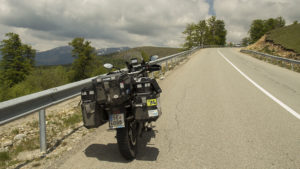 Na silnici Transalpina