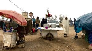 Vesnice cestou do města Taza