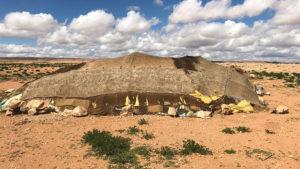 Obydlí obyvatel pouště