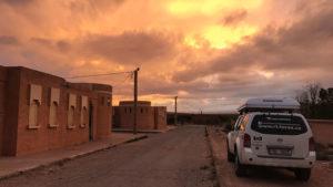 V pouštním městečku Tendrara jsme nakonec nespali