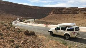 Malebná cesta kaňonem Zaabal
