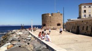 Na mole v Saint Tropez