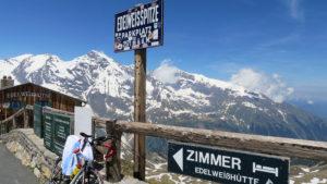 Na vrcholu Edelweisspitze
