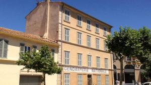 Filmová četnická stanice v Saint Tropez