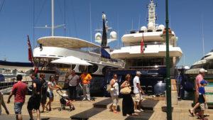 Přístav v Saint Tropez