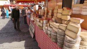 Tržnice v Chamonix-Mont Blanc