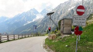 Řízení kyvadlové dopravy na passo Stalle