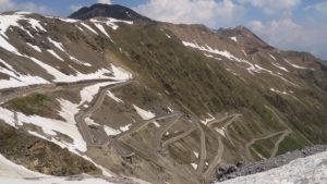 Silnice do passo Stelvio