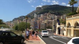 Kopec ke kasínu v Monacu