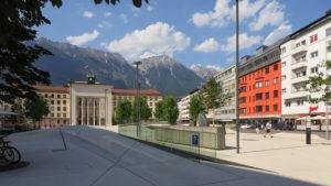Procházka v Innsbrucku...