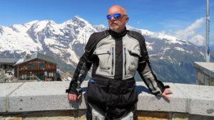 Tomáš na vrcholu hory Edelweisspitze