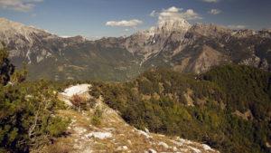 Albánské Alpy, krásné pohoří mezi obcemi Théth a Valbone