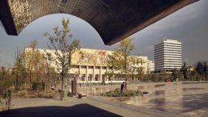 Národní muzeum na náměstí v Tiraně