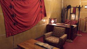 Jeden z luxusnějších bytů v bunkru