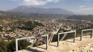 Výhled na město ze starého města