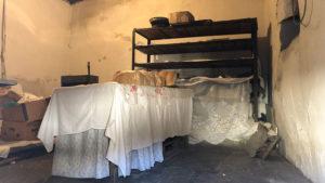 Pekárna ve staré části města Berat