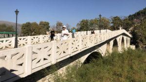 Turecký most přes řeku Osum v Beratu