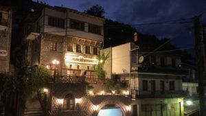 Rodinný hotel v řecké obci Metsovo