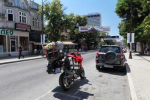 Projíždíme bulharským městem Varna