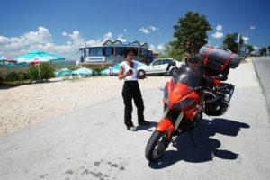V Bulharsku, cestou k hraničnímu přechodu Malko Tarnovo