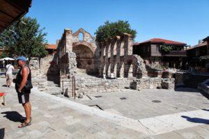 Historické náměstí na poloostrově Nessebar