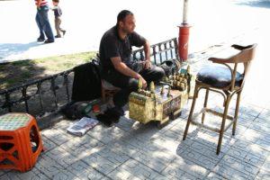 Čistič bot v městě Samsun