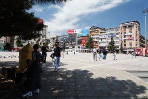 Na náměstí města Samsun