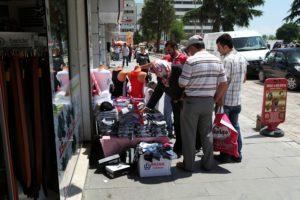 V ulicích města Samsun