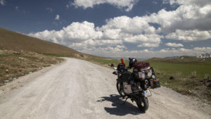 K hraničnímu přechodu s Íránem jsem jel horami a musím prohlásit, že tento kout Turecka je překrásný!