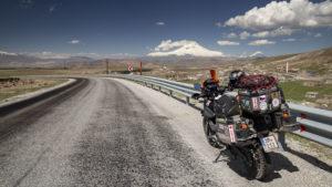 Krásné silnice v kraji plném vulkánů