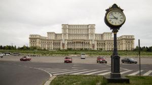 Palác parlamentu, neboli Ceausescův palác