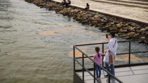 Já to v jiném příspěvku nazval, pohádky je konec! Totálně znečištěné Kaspické moře z ropy! A to na fotografiích nejsou vidět ta mastná kola zbarvená do fialova!