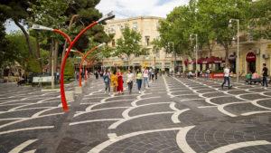 Staré centrum města Baku.