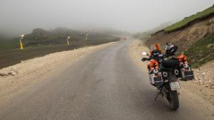 Tady to už byly jen sekundy před deštěm. Fotografie je z lyžařského areálu zmíněného v článku.