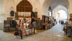Tržnice v útrobách madrasy.